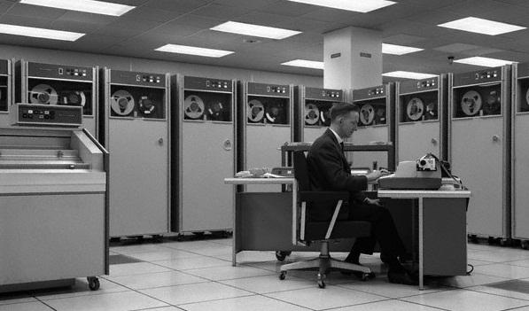 1960s computer mainframe