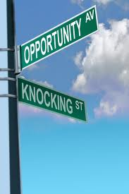 Opportunity Ave & Knocking St sign