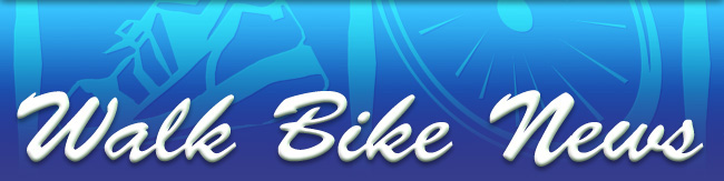 Walk Bike News banner