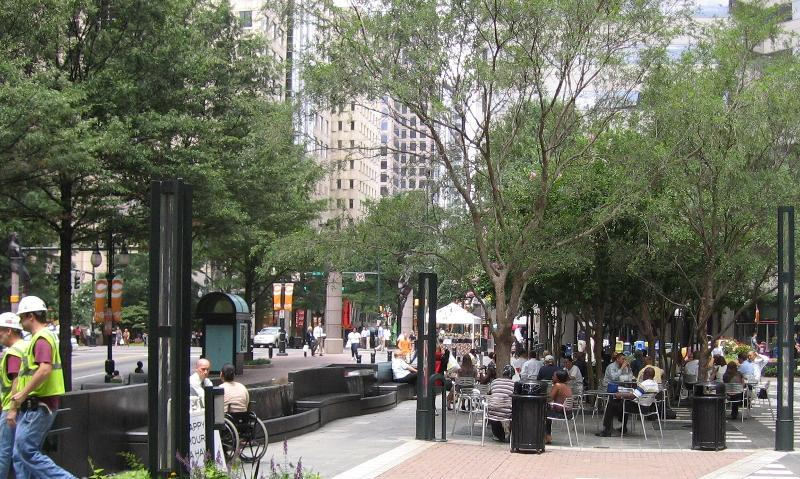 Downtown Charlotte activity center
