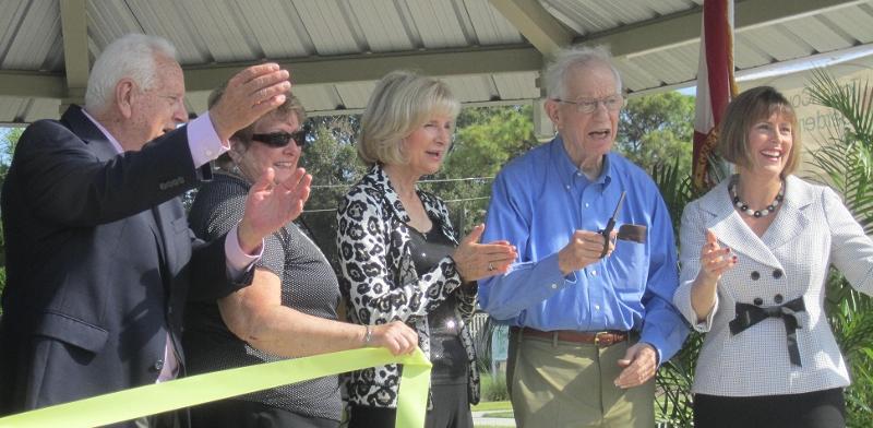 Shimberg Gardens Ribbon Cutting Dedication