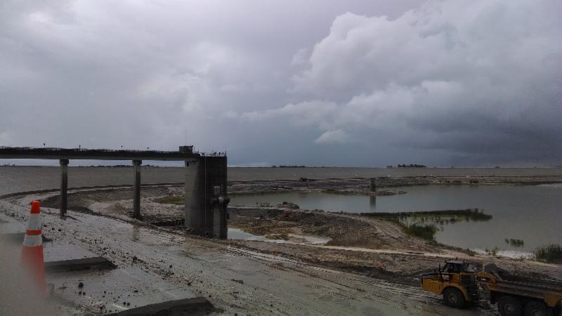 C.W. Bill Young Reservoir Construction