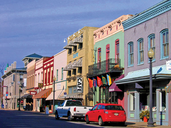 Davis Street in Culpeper, Virginia
