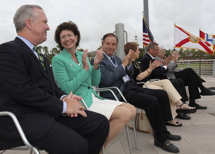 Riverwalk planned by six Tampa Mayors