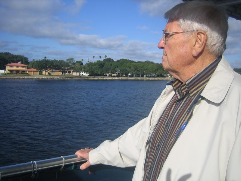 Planning Commissioner Gary Sears touring the Port of Tampa