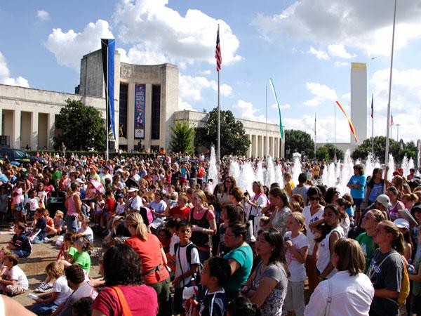 Fair Park event - Dallas, Texas