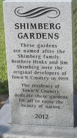 Shimberg Gardens Dedication 2012