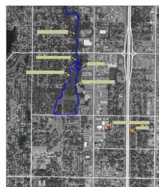 Aerial Map of Blue Sink