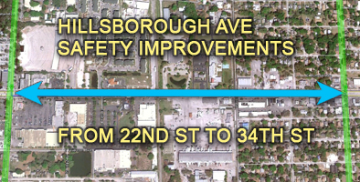 Hillsborough Ave Safety Features
