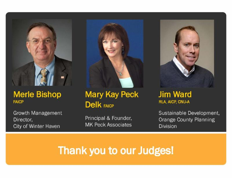 Thank you to our judges!