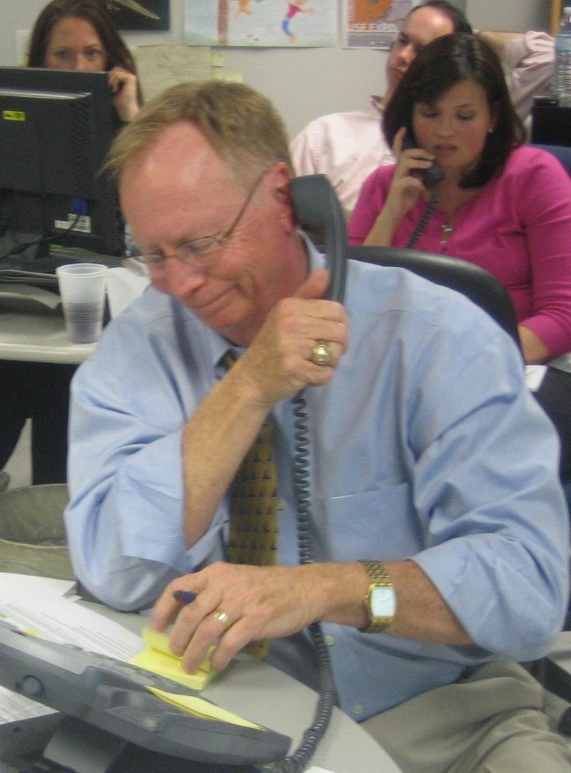 Bob Hunter & Melissa Zornitta on the Town Call