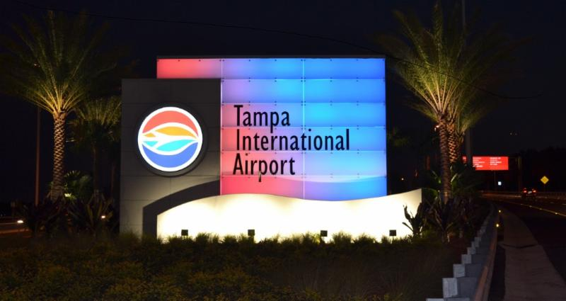 Tampa International Airport Welcome Feature
