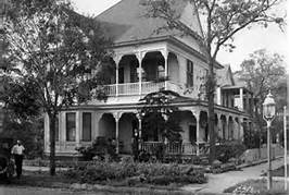 Historic Photo of Tampa Heights Mansion