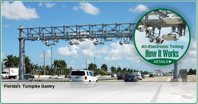 All Electronic Tolling Gantry