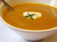 Curied Carrot Soup