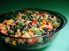 BlackBeanSalad_TomatoesandFriendsviaFlickr