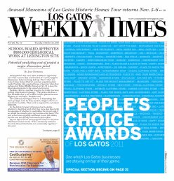 Los Gatos Weekly Times Cover