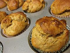 Banana Cardamom Muffin