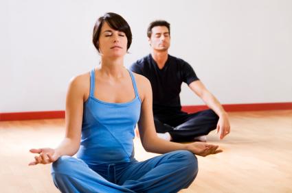 Yoga Class -Man