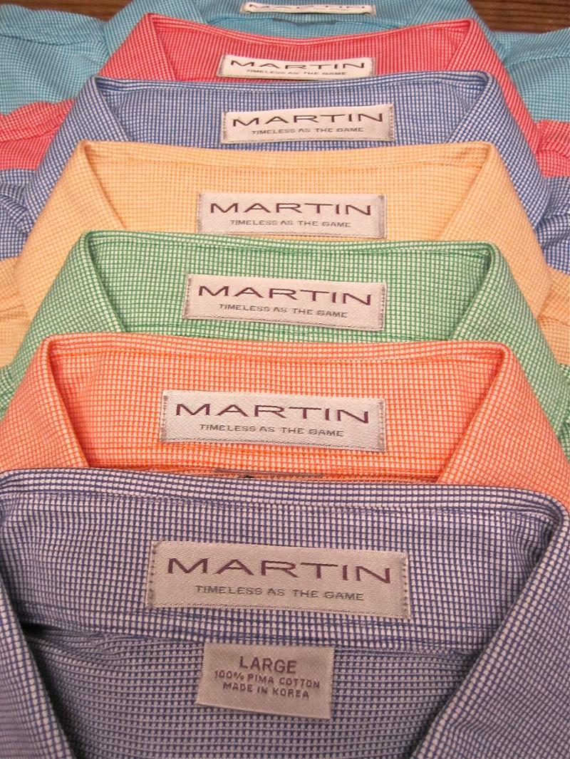 Martin Golf Apparel Debuts Spring Collection