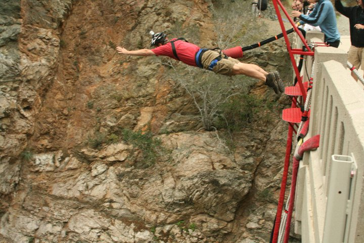 Initial Bungee Dive