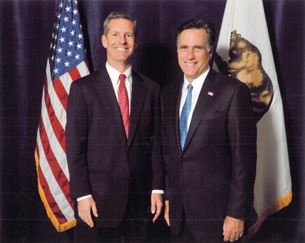 Photo with Mitt Romney