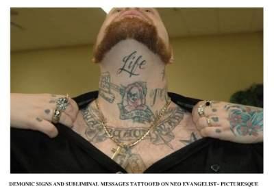 Todd Bentley - Tattoos