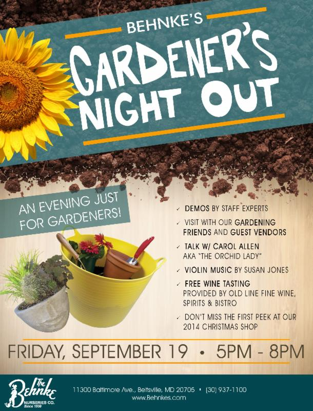 gardeners night out