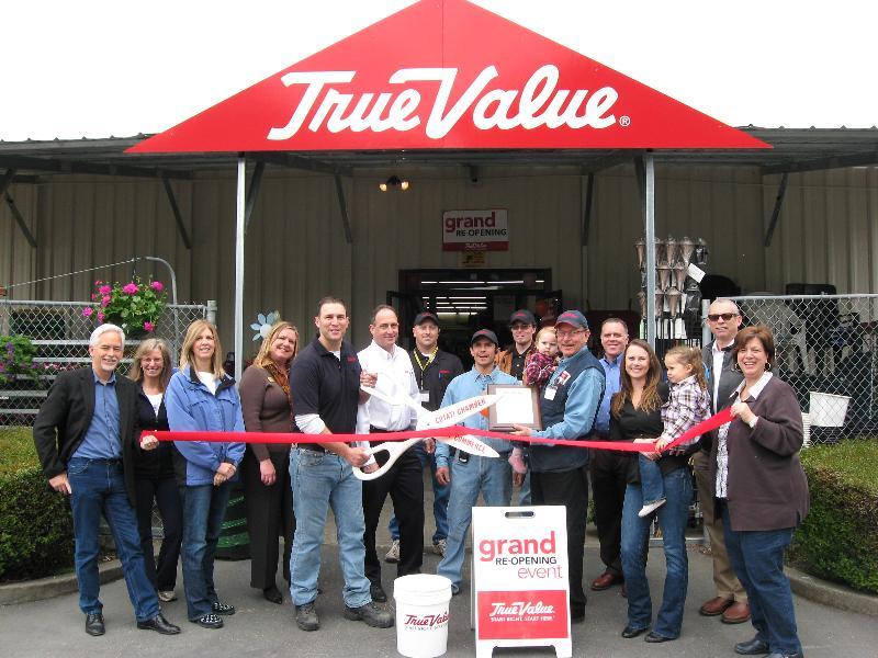 True Value Ribbon Cutting