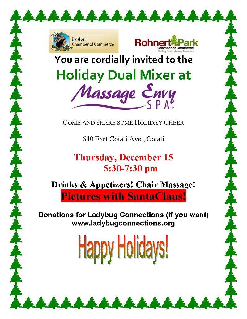 Massage Envy Holiday Mixer