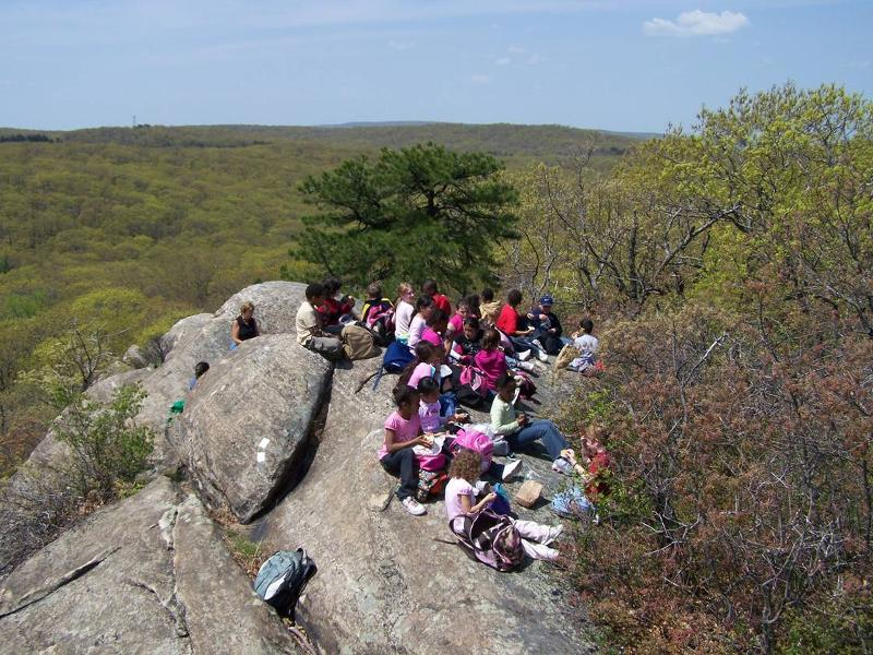 Kids at Black Rock Forest