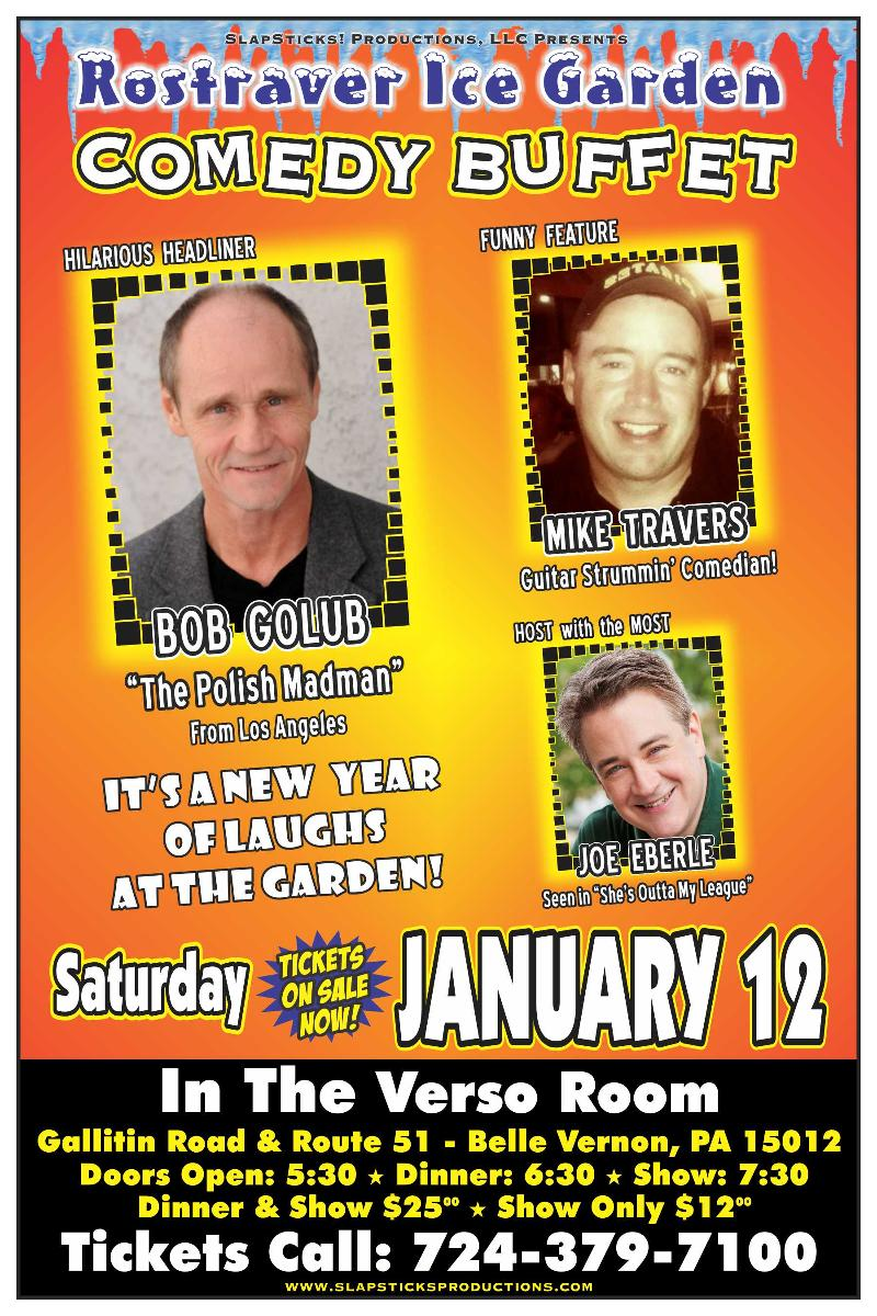Slapsticks Comedy Pittsburgh 1/12/13