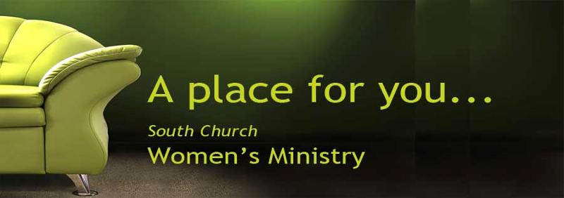 A place for you at South Church Women's Ministry
