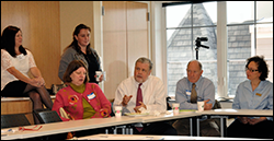 Participants at the first meeting of the Great Swamp Upper Passaic Municipal Alliance, April 16, 2014.
