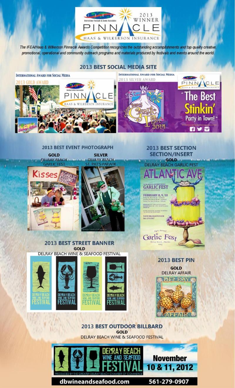 Delray Beach wins event awards
