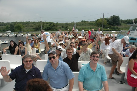 2011 Bay Cruise - Crowd on Boat