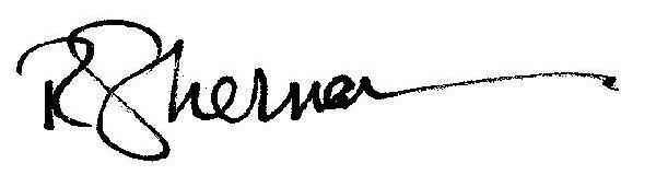 R Sherman (signature)