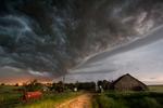 Tornado aproaching central Kansas