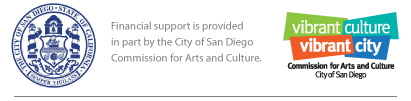 San Diego Arts and culture logo
