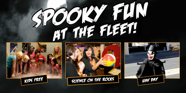 Spooky Fun at the Fleet