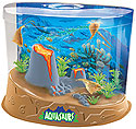Raise prehistoric 'Aquasaurs' in a cool aquarium habitat.