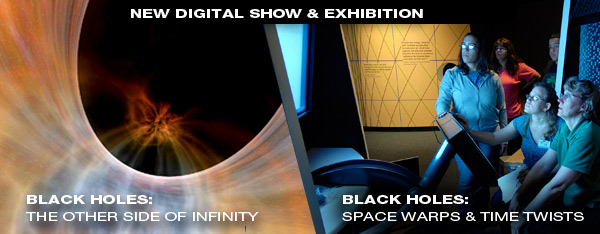 New Black Holes Digital Show and Exhibition
