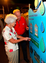 Seniors at the Water Exhibit
