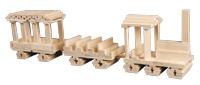 Keva Model Train