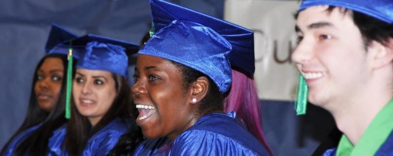 Jubilant graduates