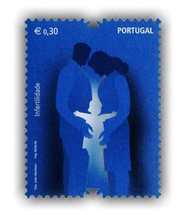 Portugal Infertility Stamp