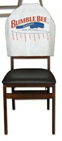 banquet style nonwoven fitted chair back