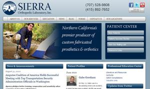 Sierra Orthopedic Website