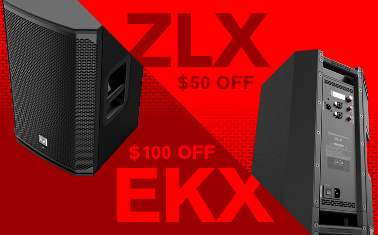 Holiday Deals: $50 OFF ZLX & $100 OFF EKX
