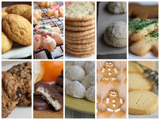 10 Holiday Cookies
